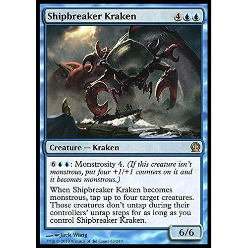 Magic: the Gathering - Shipbreaker Kraken (63/249) - Theros