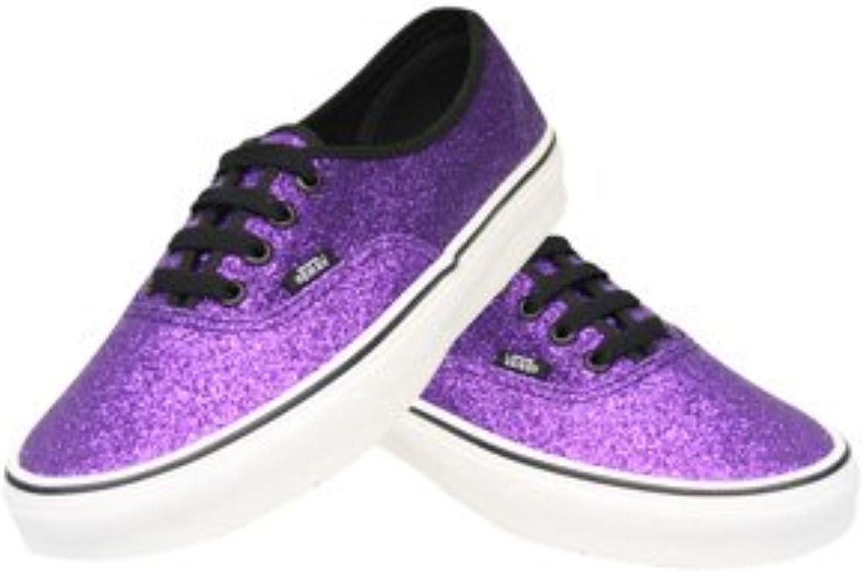 Vans Authentic Glitter Purple Size: 5.5