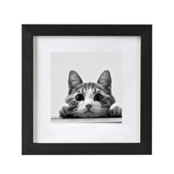 Amazon.com - BOJIN 10x10 Picture Frames Matted to 6x6 Photo Poster ...