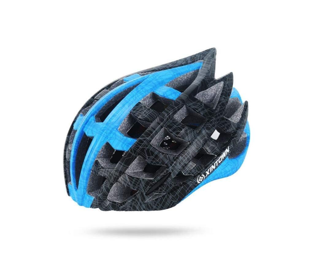 Adult Cycling Fahrradhelm Für Männer Und Frauen Sicherheit Schutz CPSC Zertifizierung (57-62Cm) Adjustable Leichtgewicht Mountain Bike Helm