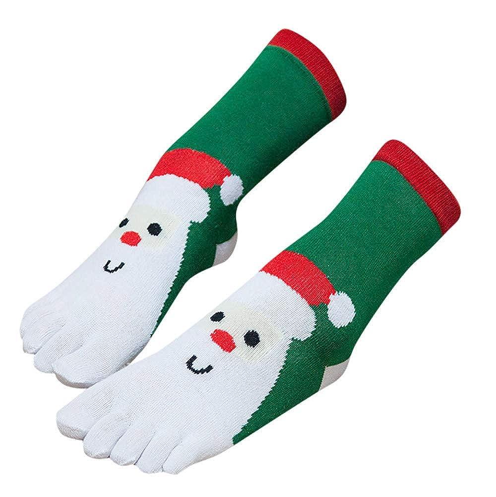 Realde--Socken Zehensocken Sport socken Weihnachtssocken Damen Herren Wintersocken Cartoon Drucken F/ünf Finger L/äufen socken Herbst Warme Weich Atmungsaktiv Str/ümpfe