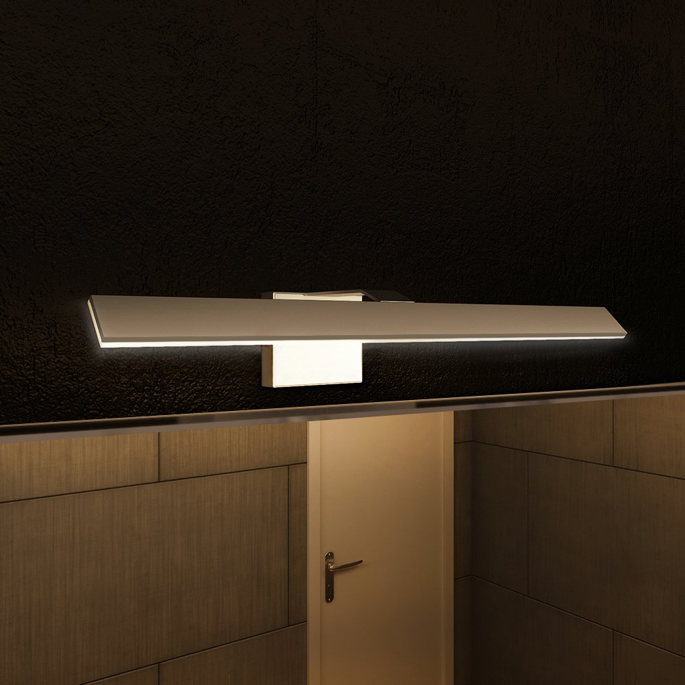 VONN VMWAL Modern LED Bathroom Vanity Light Silver - Modern bathroom vanity lighting