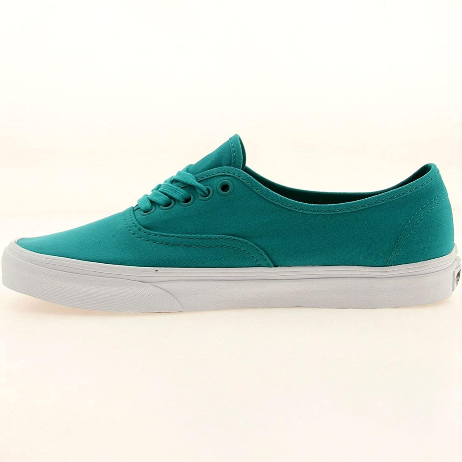 Amazon.com | Vans Authentic Mono Deep Peacock Blue Men's Skate Shoes Size  9.5 | Skateboarding