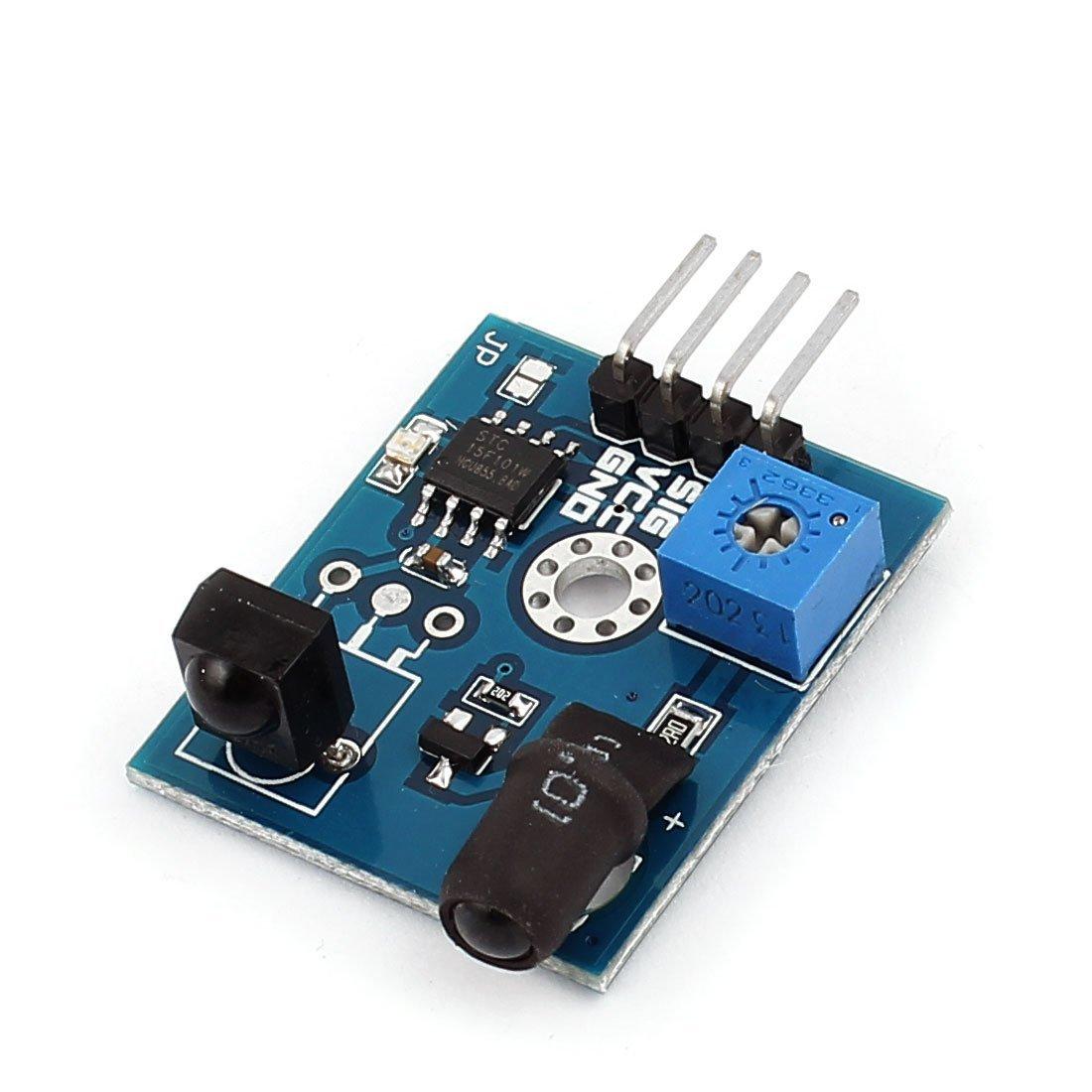 Amazon.com: eDealMax Obstáculo Detector infrarrojo Distancia 1-Ch 2-180cm evitación del módulo: Electronics