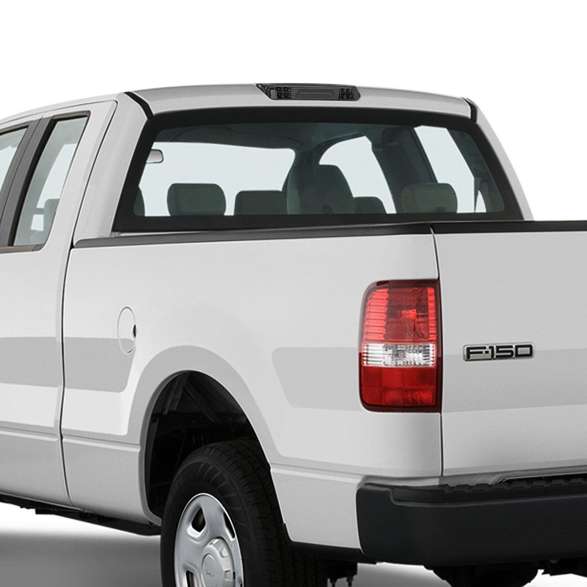 Black Housing//Clear Lens For Ford Explorer Sport Trac//F-150 3D LED Light Bar Third Brake Lamps 4th
