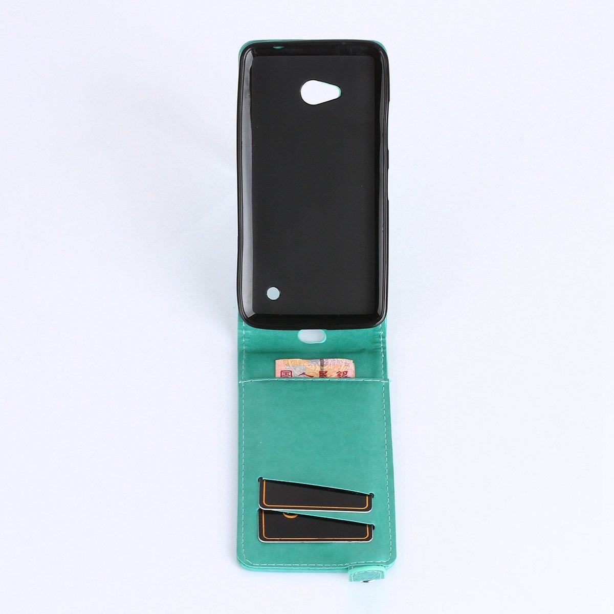 Funda Nokia Lumia N640, Ukayfe Flip Carcasa Case Carcasa ...