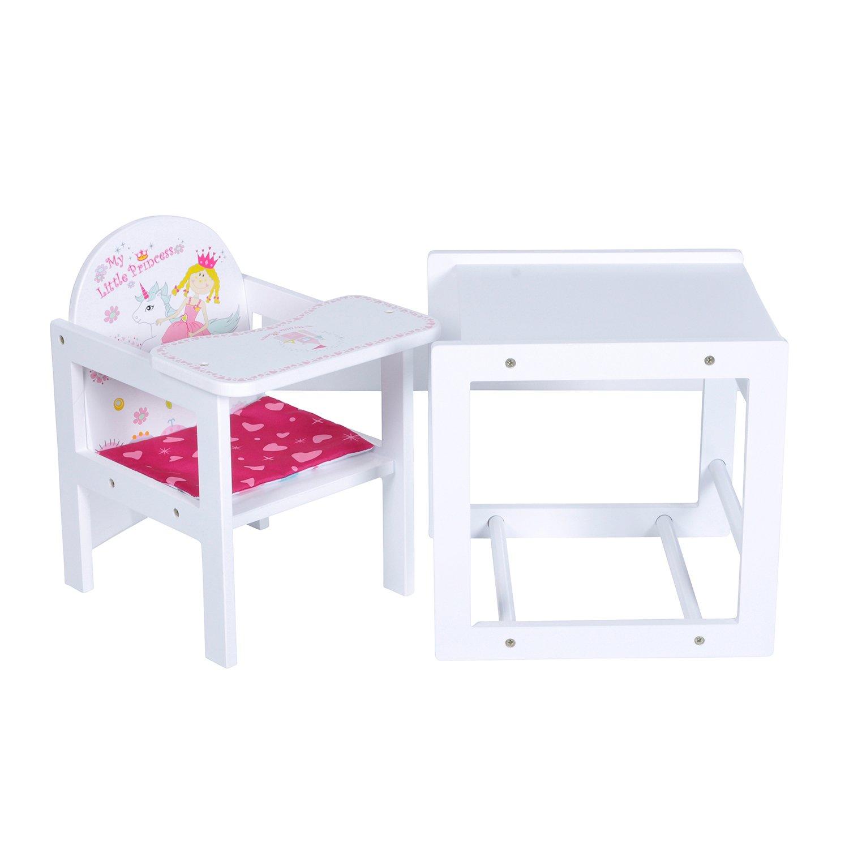 KNORRTOYS.COM 67007 - My Little Princess - Silla alta para muñeca, color blanco