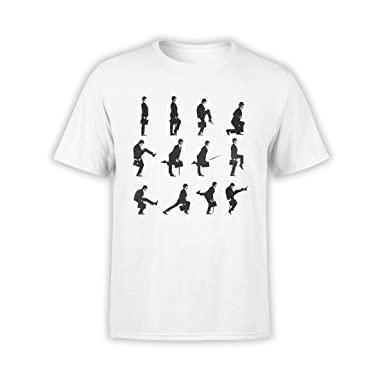 5d5880bf FANTUCCI Unisex Monty Python T-Shirts | Ministry of Silly Walks | XS - 3XL