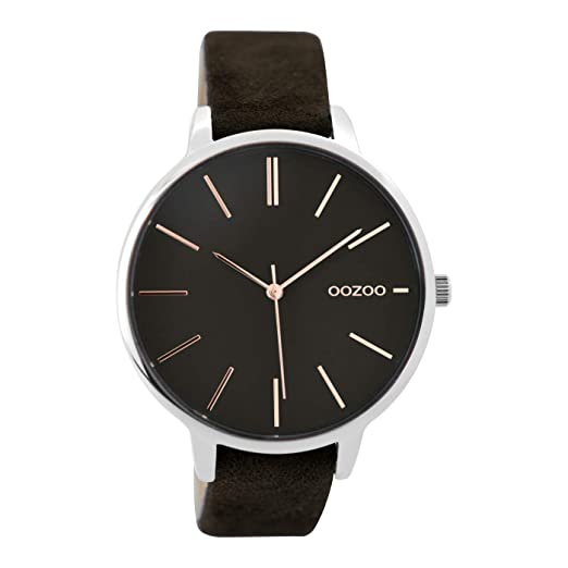 OOZOO Timepieces Black watch C9214 (42 mm)  Amazon.co.uk  Watches 28a883c3f07