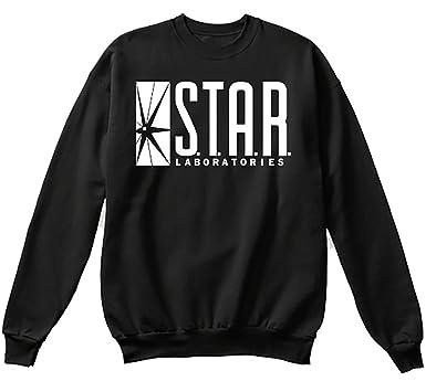 27bddf3198a0c5 NuffSaid Star Laboratories Star Labs Sweatshirt Sweater Crew Neck Pullover  - Unisex - Premium Print -