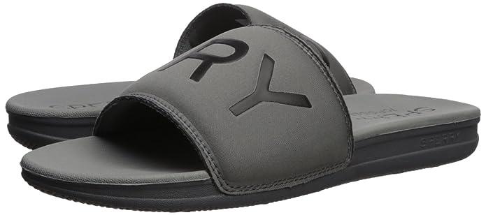 c35bc26e4 Amazon.com | Sperry Men's Intrepid Slide Sandal, Grey, 9 Medium US | Sport  Sandals & Slides
