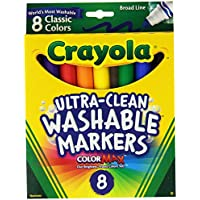 Crayola Broad Point Washable Markers  - Pack of 2...