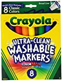 Crayola Broad Point Washable Markers - Pack of 2 (58-7808-2Pack): more info