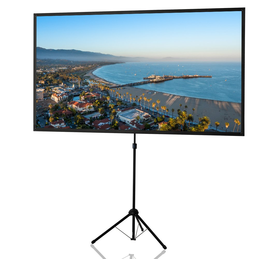 Top 20 best portable projection screens 2016 2017 on flipboard for Best portable projector 2016