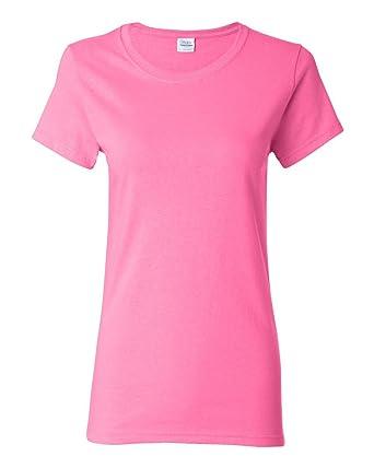 Gildan Women S Plus Size Cotton Crew Neck T Shirt