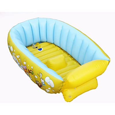 Oofwy Gonflable Bebe Baignoire Portable Mini Air Piscine Kid Infant