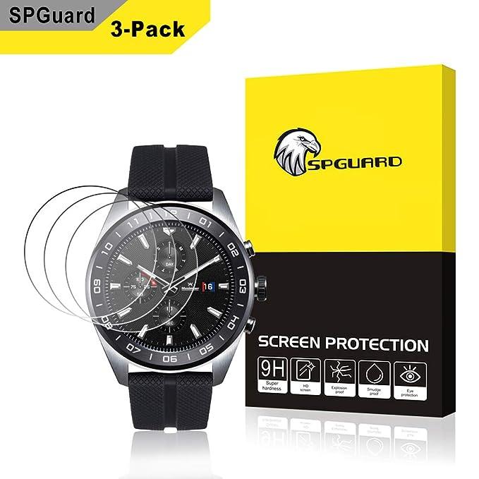 Protector de Pantalla de Cristal Templado para LG Watch W7, sin ...