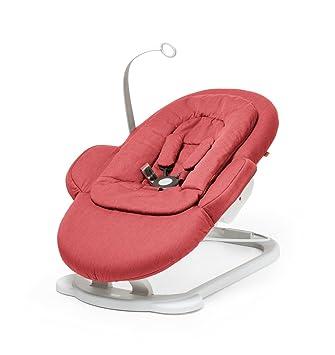 Amazon.com: Stokke Pasos – Silla mecedora, color rojo: Baby
