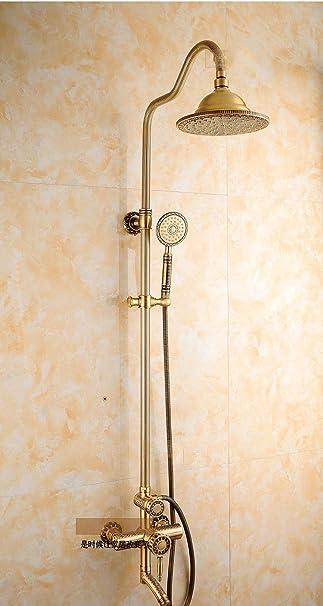 KaO0YaN-Shower Cobre Antiguo Ducha Set De Ducha Europeo Retro ...