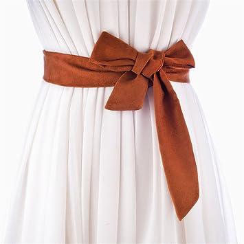 3beb0f1aaada4c Frauen Haut und Leder Bänder mit Rock knüpfen weibliche Gürtel Tasche mit  dekorativen Gürtel 170 cm