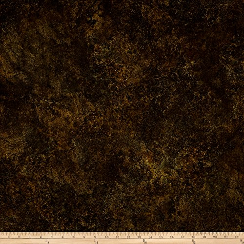 Northcott Stonehenge Gradations Basics Blender Dark Brown Fabric by The ()