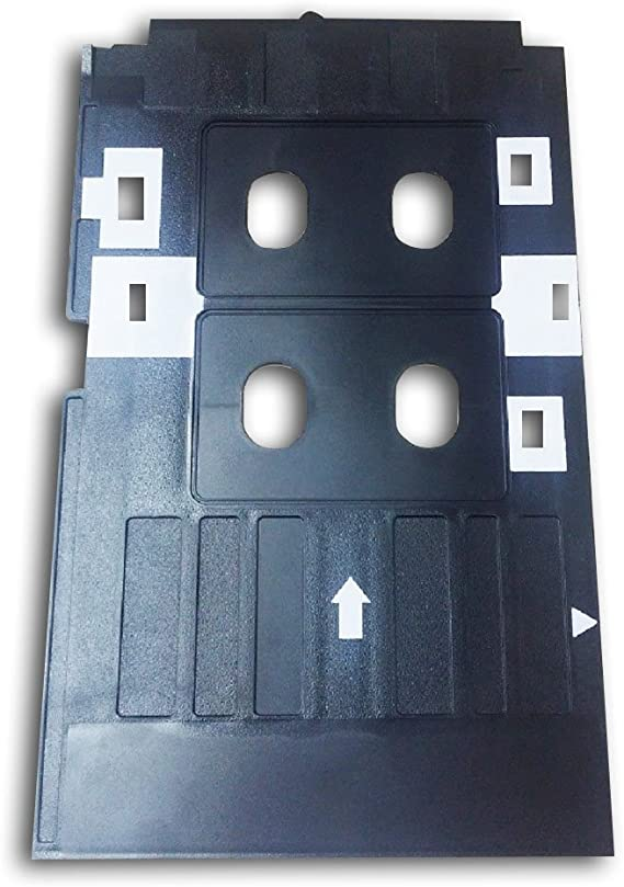 CSF Inkjet PVC Card Kit-10 Inkjet ID Card+1 Card Tray for Epson R210 Printer