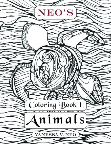 Neo's Coloring Book 1: Animals