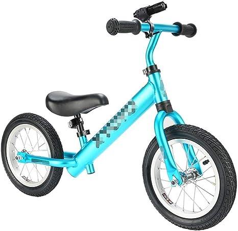 Bicicleta Sin Pedales Ultraligera Equilibrio para niños Primera bicicleta para niños de 2 a 6 años Bicicleta sin pedales Entrenamiento Bicicleta ligera Funcionamiento para caminar Bicicleta para andar: Amazon.es: Hogar