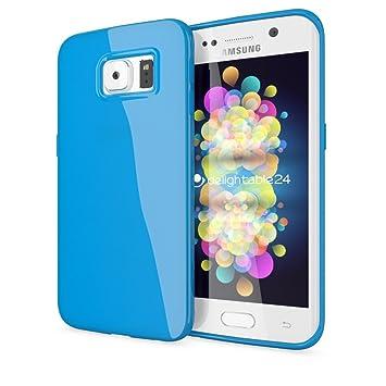 NALIA Funda Compatible con Samsung Galaxy S6 Edge Plus, Ultra-Fina Gel Protectora Movil Carcasa Silicona Telefono Bumper, Ligera Goma Cubierta Jelly ...