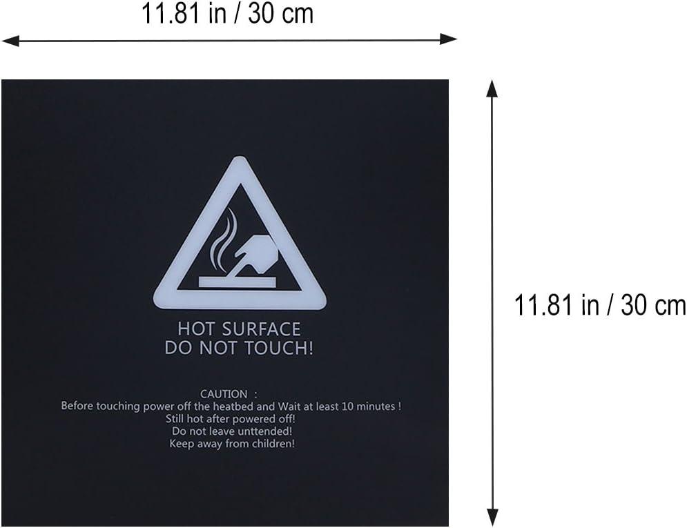 UEETEK piattaforma 3D della stampante letto riscaldato 11,8 x 11,8 3 pezzi