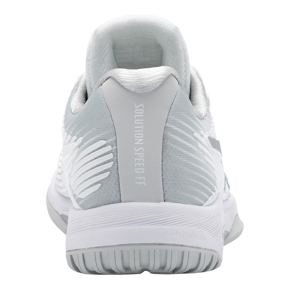 457787362d8 Zapatillas de tenis ASICS para mujer Speed FF de velocidad Plata blanca