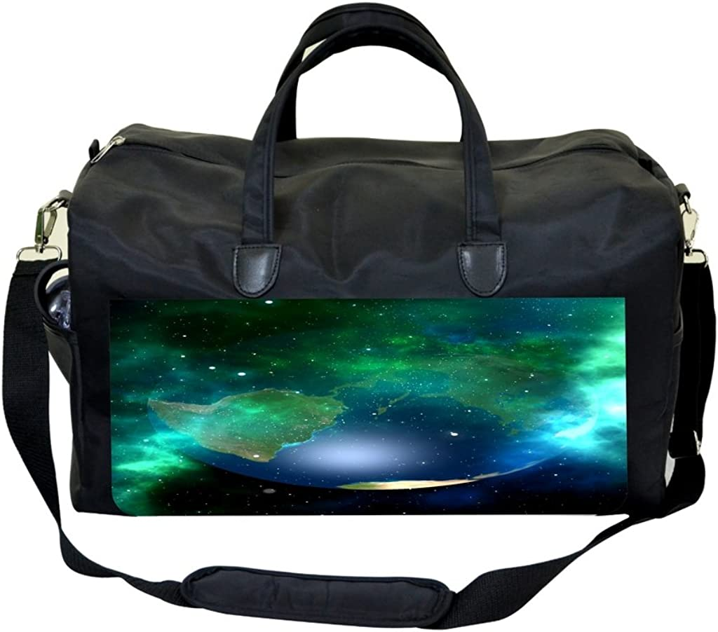 Hidden Earth Print Sports Bag