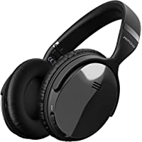 Mpow H5 [Gen-2] Active Noise Cancelling Headphones, ANC Over Ear Wireless Bluetooth Headphones w/Mic, Electroplating Stylish Look, Comfortable Protein Earpads, Travel Work Computer Home