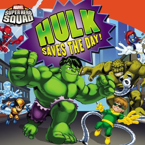 Super Hero Squad: Hulk Saves the Day! Marvel Super Hero ...