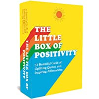 The Little Box of Positivity: 52 Beautiful Cards of Uplifting Quotes and Inspiring Affirmations