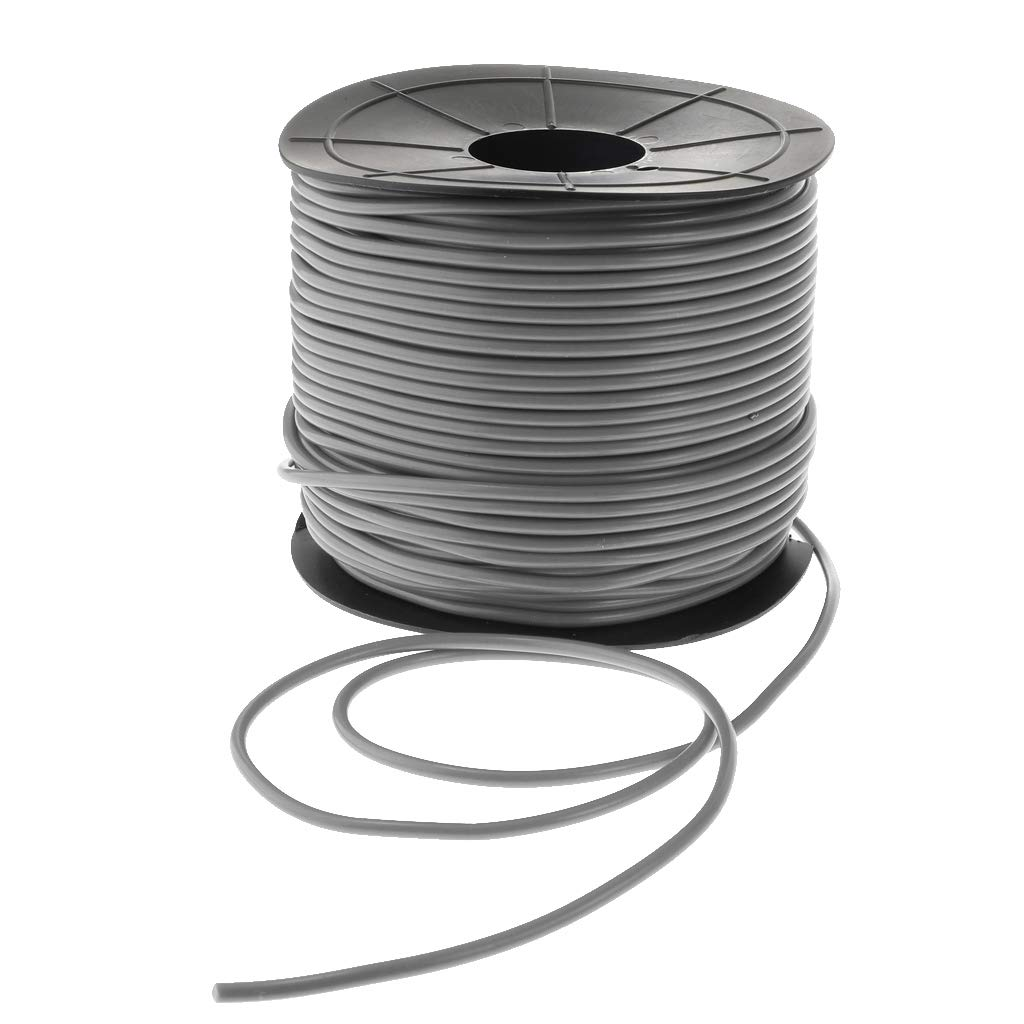 Dark Grey H HILABEE PVC Plastic Welding Round Rod Wire for PVC Floor Plastic Welding Wire 100m
