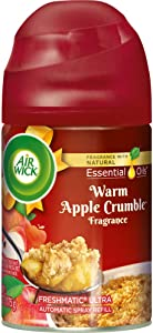 Air Wick Freshmatic Automatic Spray with Refill Air Freshener, Warm Apple Crumble, 6.17 Ounce