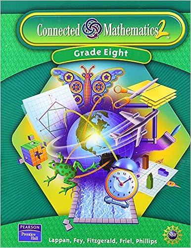 Connected mathematics 2 grade 8 glenda lappan james t fey connected mathematics 2 grade 8 fandeluxe Gallery