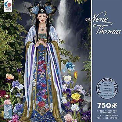 Ceaco Nene Thomas - Empress Hitomi Jigsaw Puzzle, 750 Pieces: Toys & Games