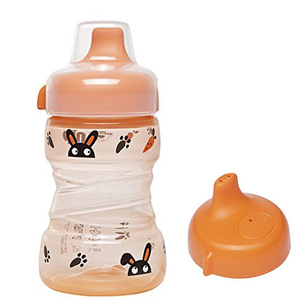 made in Germany //// NIP Trainer Cup 260 ml //// 2er Set Boy /& Girl Uni //// ab 9 Monate //// auslaufsicherer fester Trinkschnabel //// BPA frei