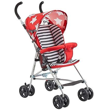 ALIFE Cochecitos De Bebé Ligeros Desde El Nacimiento. Cochecito De Viaje para Bebés Plegable Y
