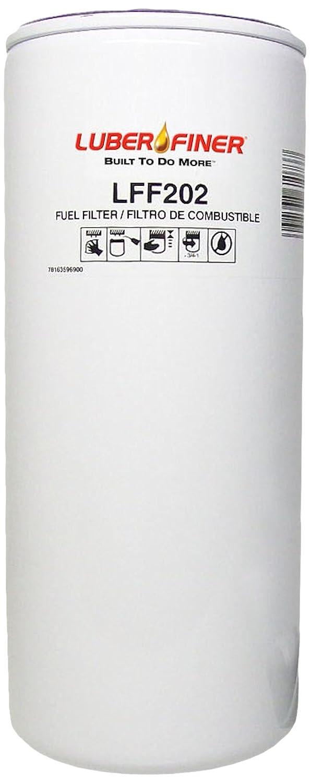 Luber-finer LFF202-6PK Heavy Duty Fuel Filter 6 Pack