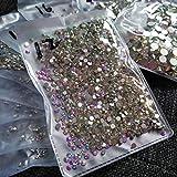 2880pcs SS12 3mm Nail Crystals AB Nail Art