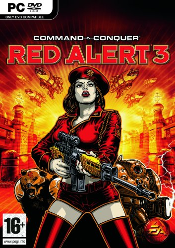 Command and Conquer Red Alert 3 (PC) (UK) (Command And Conquer Red Alert 3 Pc)