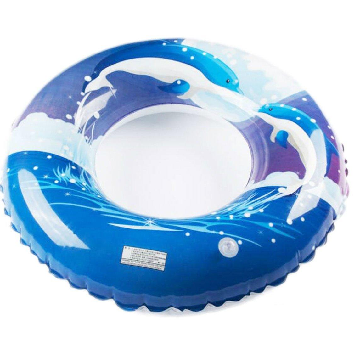 Cute elegante delfines flotador inflable piscina flotador agua juguetes piscina juguete más gruesos fiesta en la piscina playa de seguridad para adultos y ...