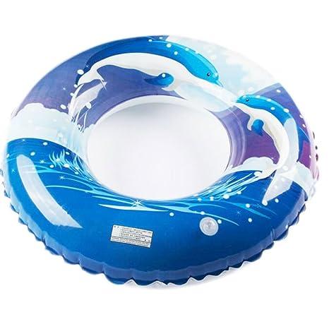 Cute elegante delfines flotador inflable piscina flotador agua juguetes piscina juguete más gruesos fiesta en la