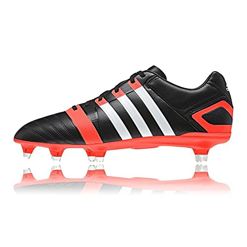 adidas FF80 Pro XTRX SG II Rugby Boots Black Running White Solar Red ... c0a638d8542a