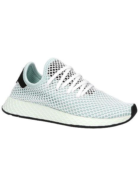 ADIDAS ORIGINALS DEERUPT Runner Sneaker Netz Schuhe schwarz