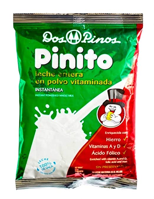 Amazon.com : Dos Pinos, Pinito Leche En Polvo Powdered Whole Milk, 400 gr (16oz) : Grocery & Gourmet Food