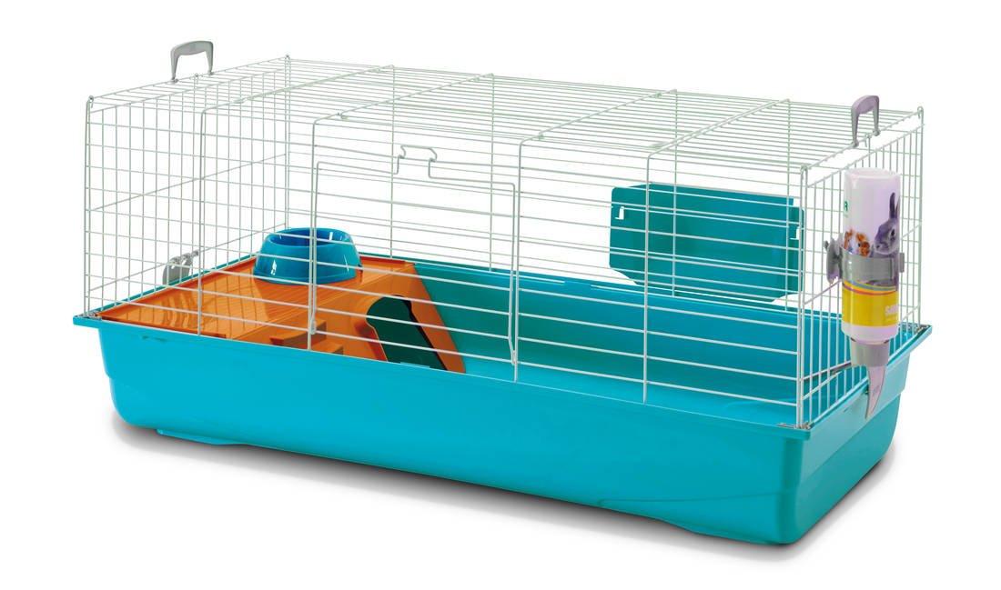 black 3 Deluxe Rabbit Cage Twilight 100x50x47cm (Pack of 3)